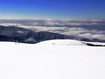 neige de montagnes Photos libres de droits