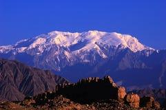 neige de montagnes Photo libre de droits