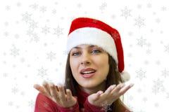 neige de Noël Photo stock