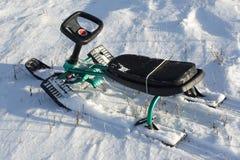 neige de scooter Photographie stock libre de droits