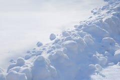 Neige en décembre Photos libres de droits
