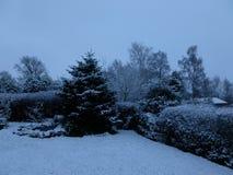 Neige-encore Photos libres de droits
