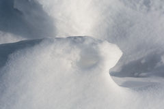 Neige et soleil III photo stock