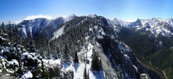 neige fraîche de montagnes Image libre de droits