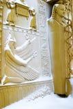 neige égyptienne de portes dessous Photo stock
