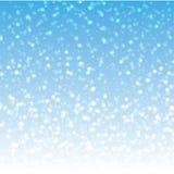 Neige pelucheuse Photos libres de droits
