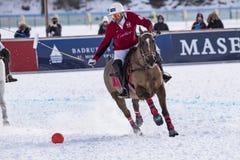 Neige Polo World Cup Sankt Moritz 2016 Photo libre de droits