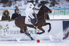 Neige Polo World Cup Sankt Moritz 2016 Image stock