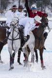 Neige Polo World Cup Sankt Moritz 2016 Photos stock