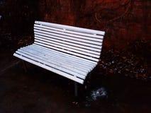 Neige sur le siège Image stock