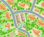 Neighborhood royalty free illustration
