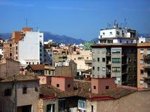 Neighborhood. Cityscape from Palma of Majorca (Spain Stock Images