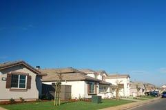 The Neighborhood. Suburban houses Stock Photo