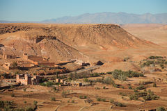 Neighborhood of Ait-Ben-Haddou Royalty Free Stock Photography