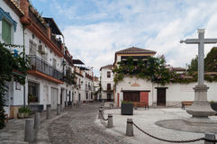Neighborhood of  Albaicín Granada Royalty Free Stock Photos