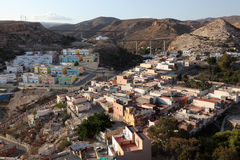Neighborhood of Almeria, Spain Royalty Free Stock Images