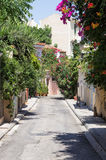 A neighborhood in Athens, Greece Royalty Free Stock Image