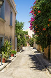 A neighborhood in Athens, Greece Royalty Free Stock Images