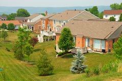 Neighborhood Back Yards Royalty Free Stock Photo