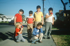 Neighborhood boys Stock Photography