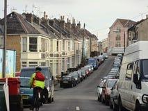 Neighborhood in Bristol Stock Image