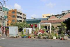 Neighborhood of cijin island Stock Images