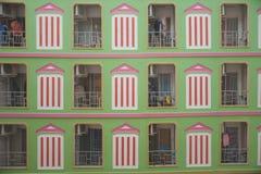 Neighborhood in condominium Stock Photography