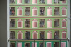 Neighborhood in condominium Royalty Free Stock Photos