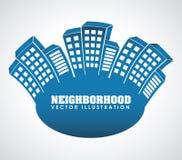 Neighborhood Stock Photo