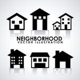 Neighborhood. Design, vector illustration eps10 graphic royalty free illustration