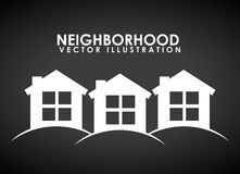 Neighborhood Royalty Free Stock Photography