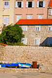 Neighborhood in Dubrovnik Royalty Free Stock Photos