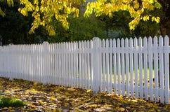 Neighborhood fence Stock Photography