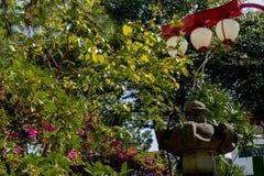 Neighborhood freedom in the city of sao paulo sunny day royalty free stock photos