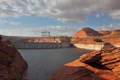 Neighborhood of Glen Canyon Dam Stock Photography