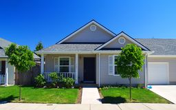 Neighborhood Home. A residential home Stock Photography