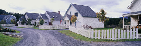 Neighborhood homes Stock Photos