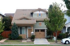 Neighborhood House Royalty Free Stock Images