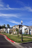Neighborhood Houses Royalty Free Stock Photos