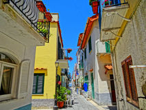 Neighborhood in Ischia Royalty Free Stock Photo
