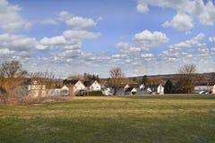Neighborhood Landscape stock photo