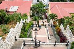 Neighborhood of Las Penas, Guayaquil, Ecuador Royalty Free Stock Image