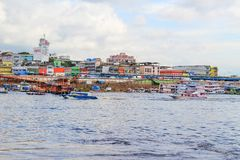 Neighborhood in Manaus, Amazona, Brazil Stock Photography