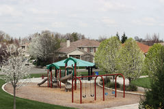 Free Neighborhood Park Royalty Free Stock Photography - 14440407