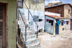 Neighborhood poor and neglected Royalty Free Stock Image