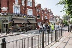 Neighborhood pub. Royalty Free Stock Photo