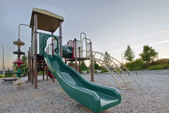 Neighborhood Public Park ChildrenPlayground Gym Royalty Free Stock Photo