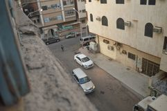 Neighborhood of Quba. The same time Royalty Free Stock Photos