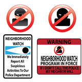 Neighborhood watch Stock Photos