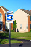 Neighborhood Watch Sign Royalty Free Stock Image